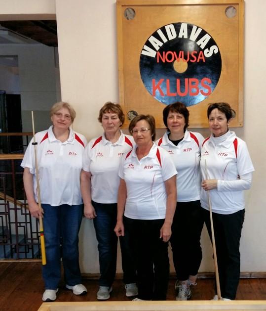 Sieviešu komandu čempionāts. Individuālie un komandu rezultāti. 03.03.18.