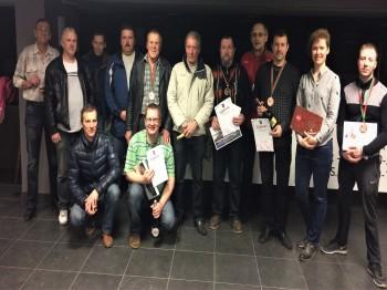 Liepājas pilsētas vīriešu dubultspēļu čempionāts. 2017