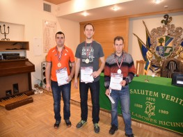 LR individuālā čempionāta fināla rezultāti vīriešiem. 26.11.2016.