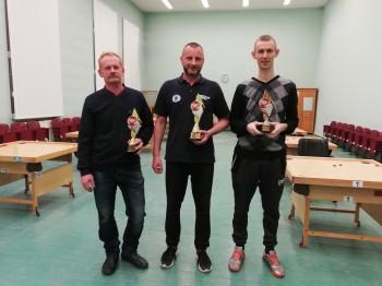 Rezultāti. Ventspils kausa izcīņa novusā. 17.11.2018.