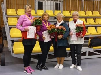 Sieviešu un vīriešu pāru dubultspēļu čempionāta rezultāti. 18.09.21