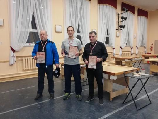 LR individuālā čempionāta vīriešu turnīra fināla rezultāti. 24.11.18.